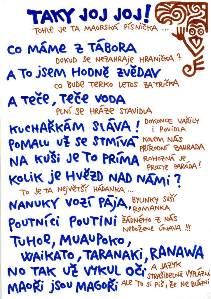 Maorská píseň
